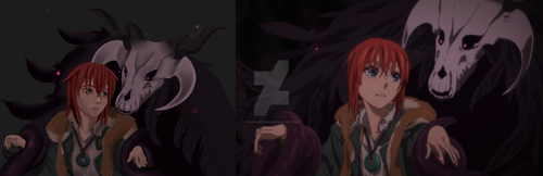 Ancient Magus Bride- Side by Side by toriegarcia89