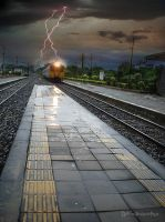 Train with the Lightning. by OshimaruKung7285