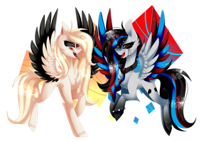 [Collab] TWO CRAZY : with underdise by HuiRou