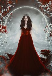 The Dragon Snow Queen by charmedy