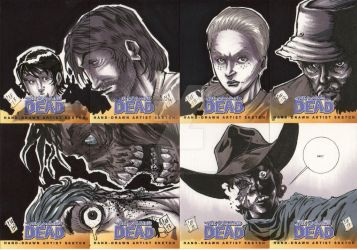 The Walking Dead Series 2 Sketch Cards 2 by chris-foreman