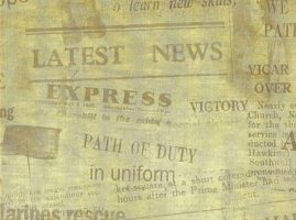 Old Newspaper Texture by backgroundsfind