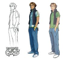 Chara design research 09 by Tohad