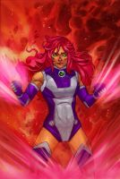 DC Rebirth : Starfire by wansworld