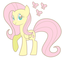 Fluttershy by The-Sliver-Stars