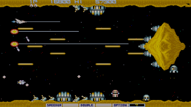 Gradius HD by phozon99