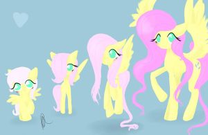 Cycle of Fluttershy: Completed by Jadedhyrt