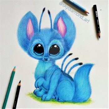Stitch Wolfy by SkyKristal