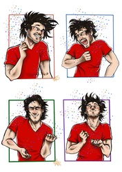 Dance Dance Markiplier~ by woodooferret
