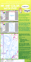 Shojo Ink-Color Tutorial 1 by DyMaraway