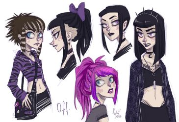 off - hairstyles by Fukari