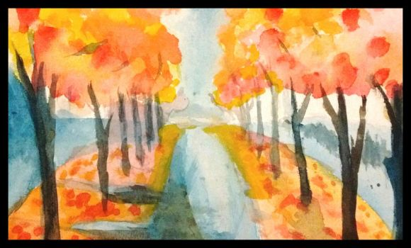 water color from YouTube by shuaster