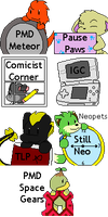 Gallery Icons - 01 by BuizelKnight