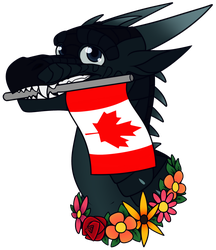 O Canada! [YCH] by Lamp-P0st