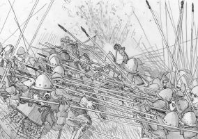 Capture the Hill, Battle of Wimpfen, May 6 1622 by FritzVicari