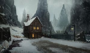 Medieval house by PrabhuDK