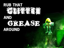 Glitter and Grease Background by gagasmonsters