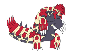 Primal Groudon by BoomKey