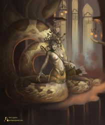 The Gorgon by Javilaparra