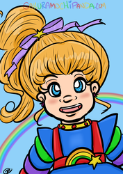 Rainbow Brite Smile by I-heart-Link