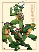TMNT by AlessandraDC