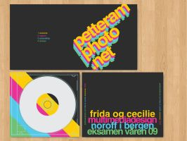 PetteramPhoto.net CD Cover by StiligeCecilie
