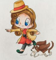 Lady Layton by Mushroom-Cookie