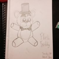 Plush Freddy by Riyana2