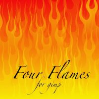 Four Flames for Gimp by dnjbarnes