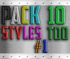 Pack 10 Styles TDD #1 by TheDamDamBW12