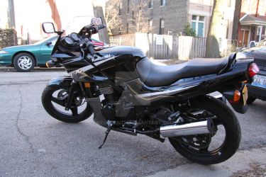 EX500 Right Profile by Kellisanth