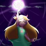 Evil Magic by CandyAICDraw