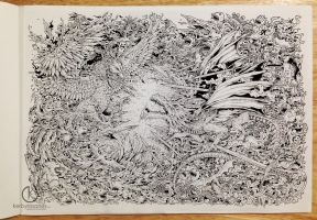 FIRE AND ICE by kerbyrosanes