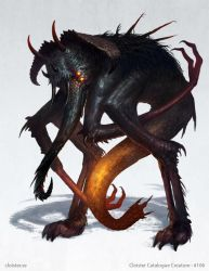 Panphao - creature design by Cloister