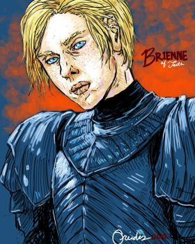 Brienne of Tarth by oreides