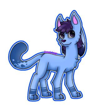 Kittydog OC | Blueberry by Deresta2002