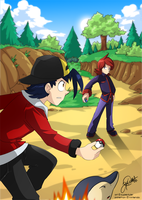 Heartgold VS Soulsilver by super-tuler