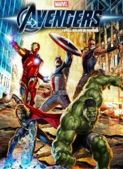 The Avengers Movie Poster Concept Art Ver.2 by Alex4everdn