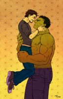 AVENGERS - beauty and the beast by FerioWind