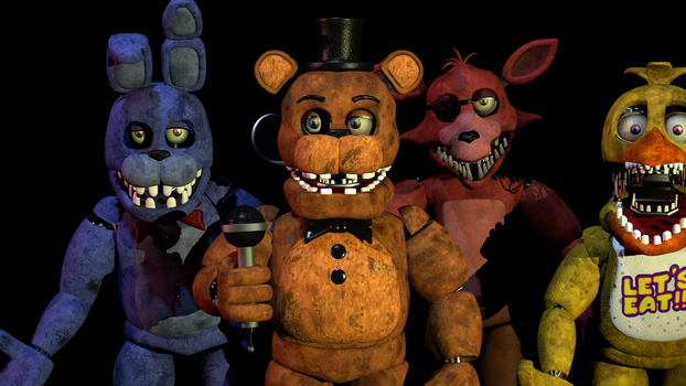 Unwithered Animatronics Sfm - 0425
