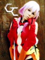 Inori Yuzuriha GUILTY CROWN COVER COSPLAY PIC by K-I-M-I