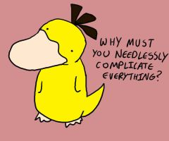 Psyduck is Confused. by MasterOfGeckos