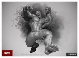 Hulk - Tribute to Marvel by atma33