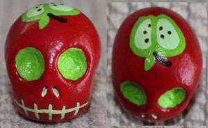 Apple Skull 81 by angelacapel
