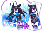 Shinobi Audii-chan Bookmark (Pre-orders open) by Nijiiru