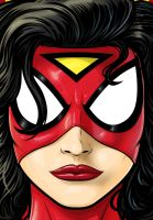 Spider Woman by Thuddleston