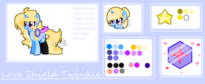 Love Shield Twinkle (2018 ref version 2) by NyaDeerYT