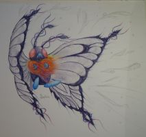 Mega Butterfree by Saphira76