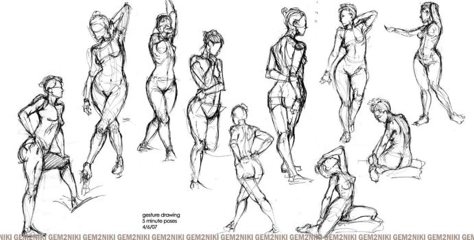 04-07-07 - Gesture Drawing by gem2niki
