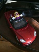 Wario's Sweet Ride by Captainpizzapie